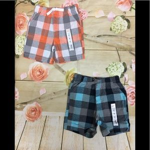 Jumping Beans boys checkered shorts